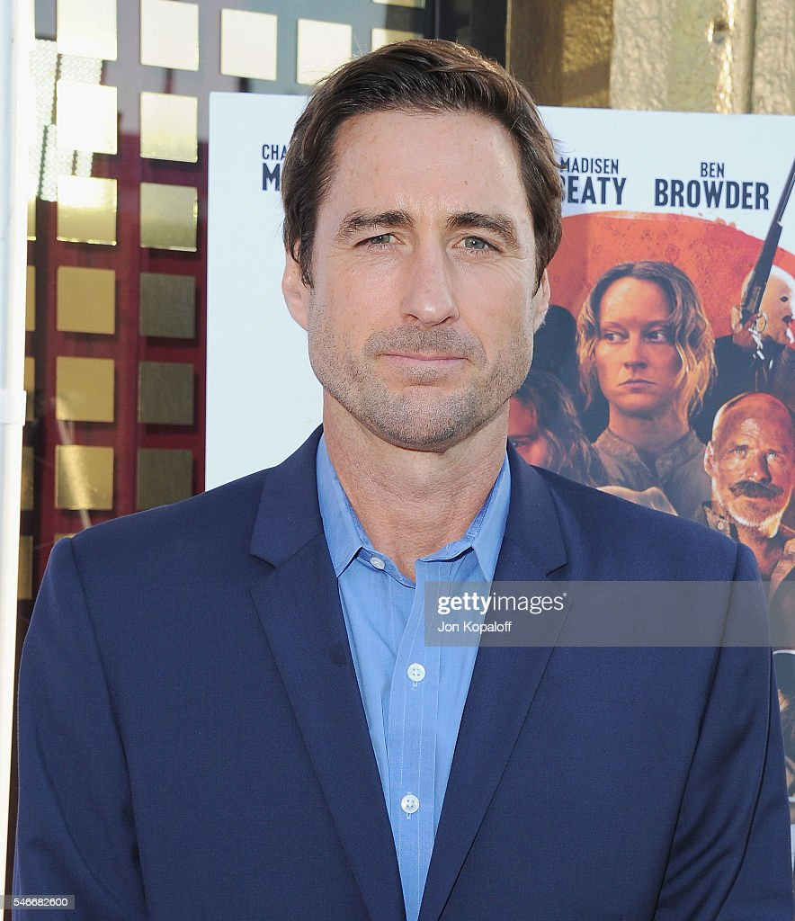 Actor Luke Wilson arrives at the Los Angeles Premiere 'Outlaws And Angels' at Ahrya Fine Arts Movie Theater on July 12, 2016 in Beverly Hills, California.