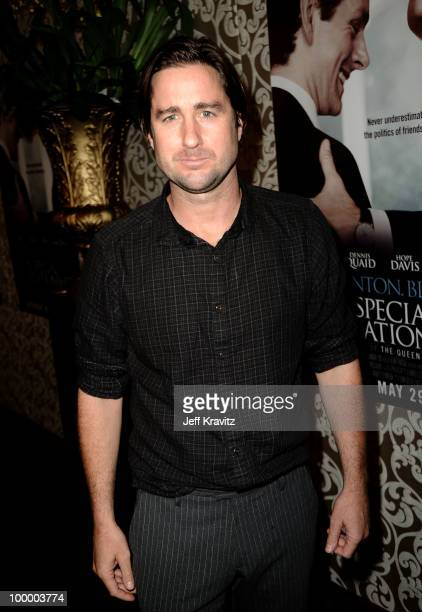 Actor Luke Wilson arrives to the HBO premiere of 'The Special Relationship' held at Directors Guild Of America on May 19 2010 in Los Angeles...