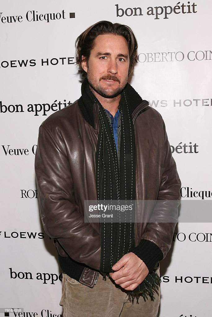 Actor Luke Wilson at The Bon Appetit Supper Club Hosts 'Henry Poole Is Here' party on January 21, 2008 in Park City, Utah.