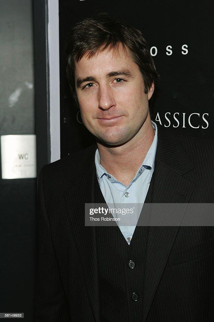 Actor Luke Wilson attends the Grand Classics Screening of 'Pat Garrett Billy The Kid' at Soho House on November 12 2005 in New York City