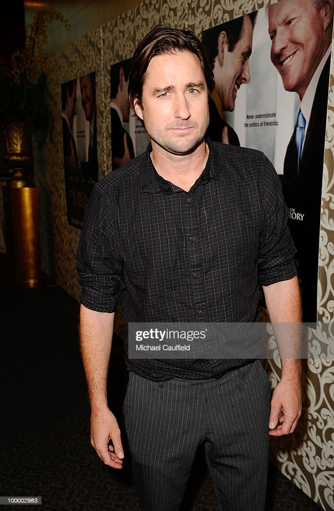 Actor Luke Wilson attends the Los Angeles premiere of HBO Film's 'The Special Relationship' at the Directors Guild Theatre on May 19, 2010 in West Hollywood, California.