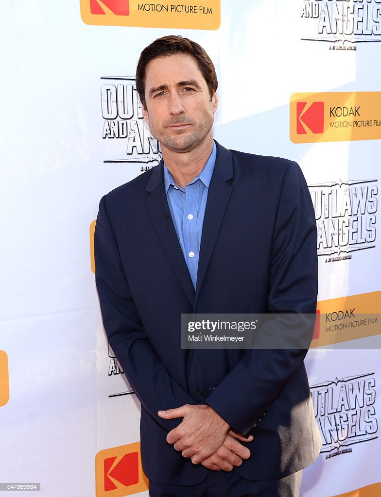 Actor Luke Wilson attends the premiere of Momentum Pictures' 'Outlaws And Angels' at Ahrya Fine Arts Movie Theater on July 12, 2016 in Beverly Hills, California.
