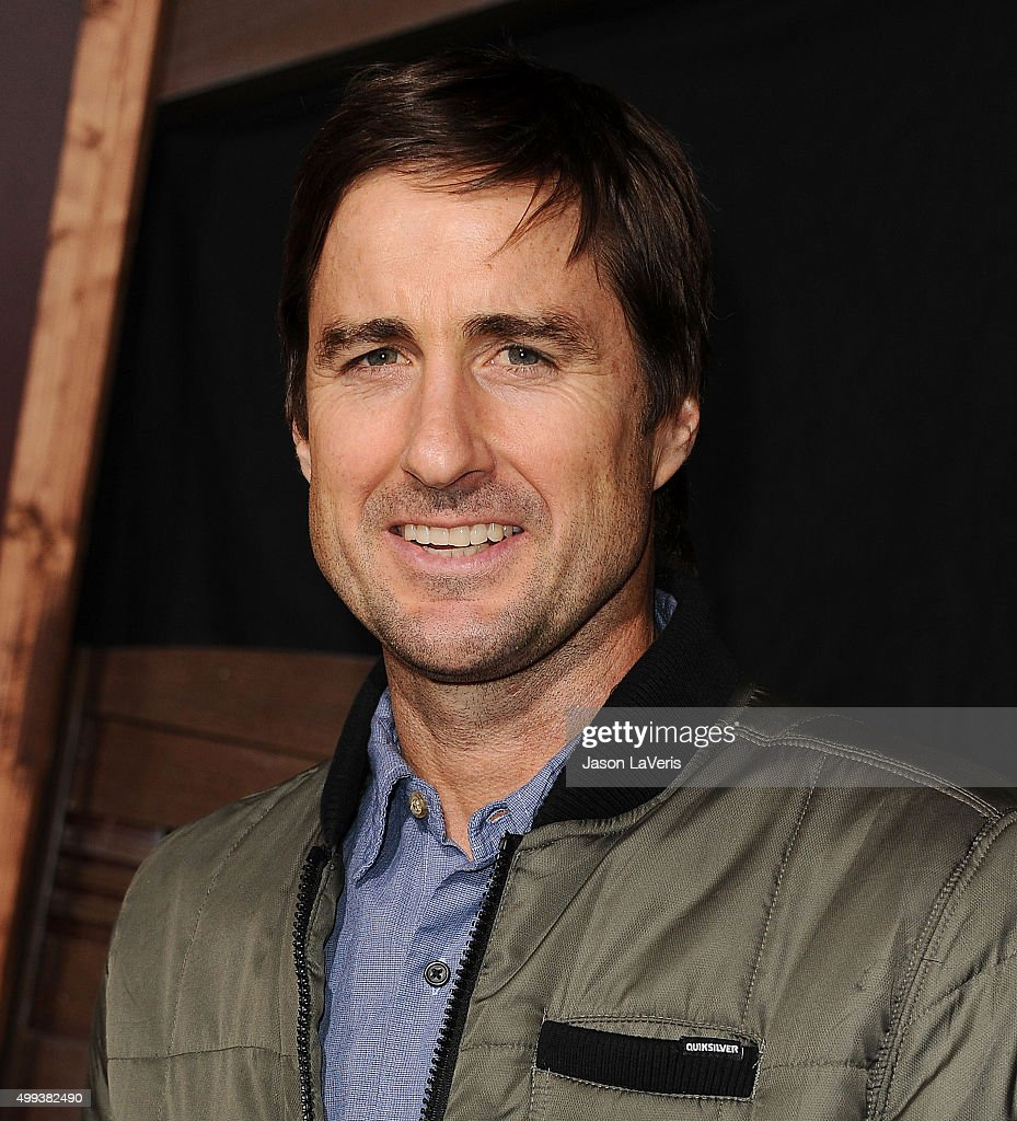 Actor Luke Wilson attends the premiere of 'The Ridiculous 6' at AMC Universal City Walk on November 30, 2015 in Universal City, California.
