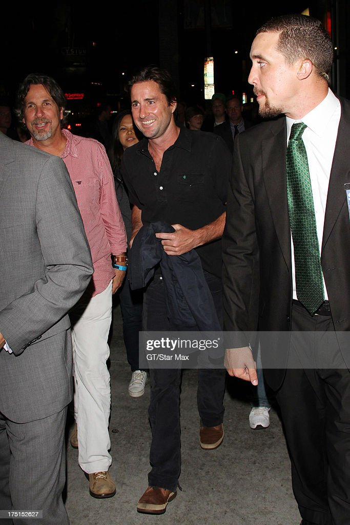 Actor <a gi-track='captionPersonalityLinkClicked' href=/galleries/search?phrase=Luke+Wilson+-+Actor&family=editorial&specificpeople=210582 ng-click='$event.stopPropagation()'>Luke Wilson</a> sighted on July 31, 2013 in Los Angeles, California.