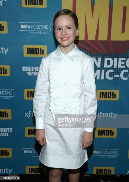 Actor Lulu Wilson at the #IMDboat At San Diego ComicCon 2017 on the IMDb Yacht on July 20 2017 in San Diego California