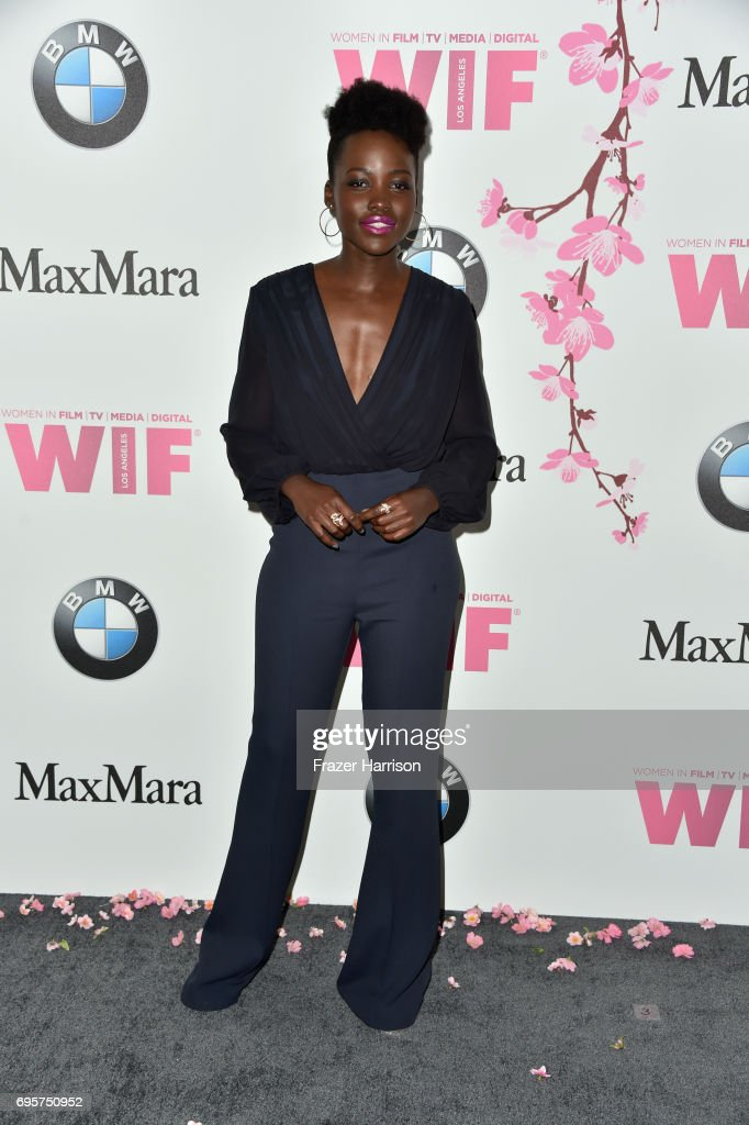 Actor Lupita Nyong'o attends the Women in Film 2017 Crystal + Lucy Awards Presented by Max Mara and BMW at The Beverly Hilton Hotel on June 13, 2017 in Beverly Hills, California.