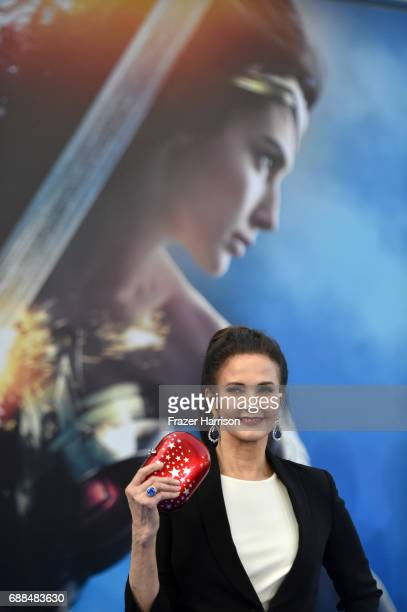 Actor Lynda Carter attends the premiere of Warner Bros Pictures' 'Wonder Woman' at the Pantages Theatre on May 25 2017 in Hollywood California