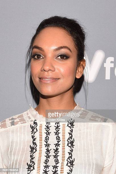 Actor Lyndie Greenwood attends the 'Sleepy Hollow' event during aTVfest 2016 presented by SCAD on February 6 2016 in Atlanta Georgia