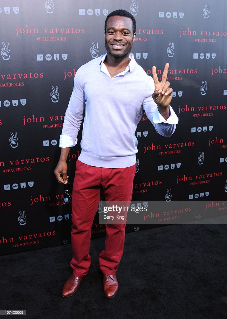 Actor Lyriq Bent attends the International Peace Day celebration at John Varvatos on September 21, 2014 in Los Angeles, California.