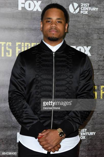 Actor Mack Wilds attends the screening of FOX's 'Shots Fired' at Pacific Design Center on March 16 2017 in West Hollywood California