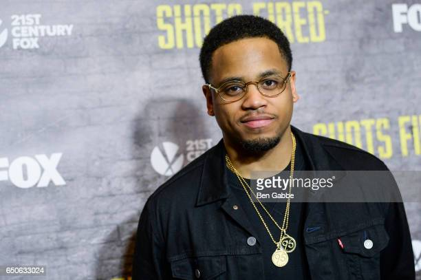 Actor Mack Wilds attends the 'Shots Fired' New York Special Screening at The Paley Center for Media on March 9 2017 in New York City
