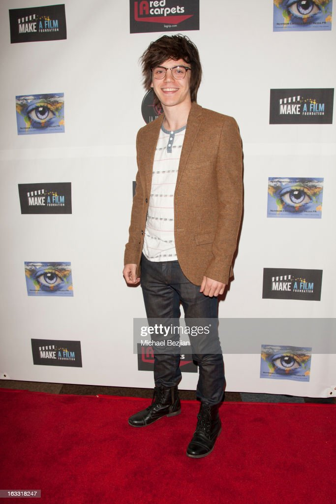Actor Mackenzie Bourg attends Make A Film Foundation's 'Kidz 4 Kidz' Comedy 4 A Cau$e Benefit Show at Writers Guild Theater on March 7, 2013 in Beverly Hills, California.