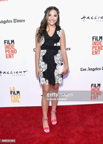 Actor Mackenzie Ziegler attends the opening night premiere of Focus Features' 'The Book of Henry' during the 2017 Los Angeles Film Festival at...