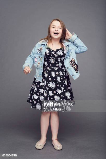 Actor Maddie DixonPoirier poses for portrait session at the 2017 Summer TCA session for Audience Network's 'Hit the Road' on July 25 2017 in Beverly...
