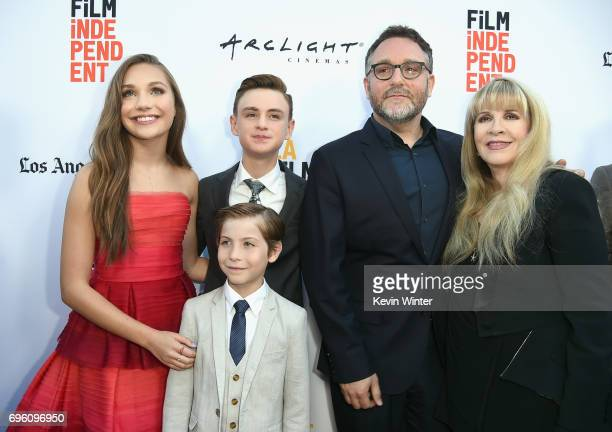 Actor Maddie Ziegler actor Jacob Tremblay actor Jaeden Lieberher director Colin Trevorrow and singersongwriter Stevie Nicks attend the opening night...