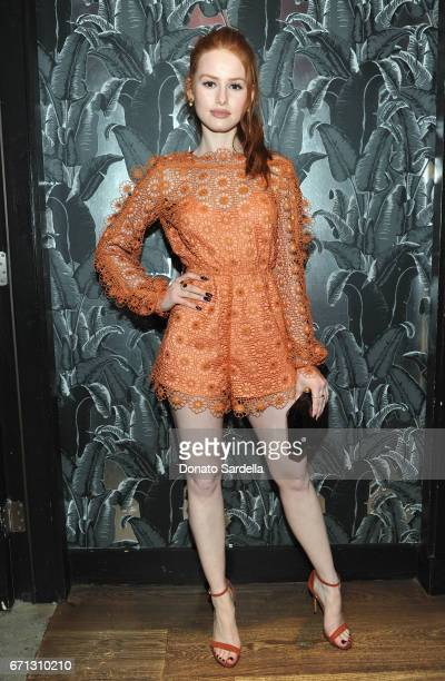 Actor Madelaine Petsch attends Marie Claire's 'Fresh Faces' celebration with an event sponsored by Maybelline at Doheny Room on April 21 2017 in West...