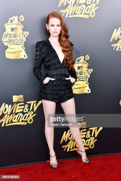 Actor Madelaine Petsch attends the 2017 MTV Movie And TV Awards at The Shrine Auditorium on May 7 2017 in Los Angeles California
