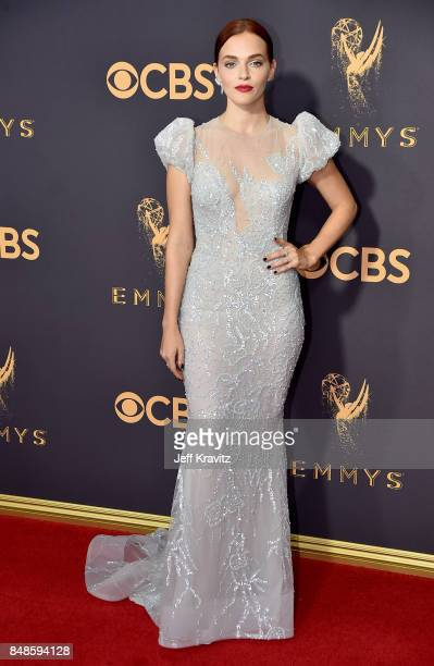 Actor Madeline Brewer attends the 69th Annual Primetime Emmy Awards at Microsoft Theater on September 17 2017 in Los Angeles California