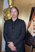 Actor Mads Mikkelsen attends the 86th Annual Academy Awards Foreign Language Film Award Photo Op at Hollywood Highland Center on February 28 2014 in...