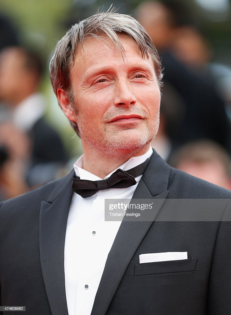 Actor Mads Mikkelsen attends the closing ceremony and 'Le Glace Et Le Ciel' ('Ice And The Sky') Premiere during the 68th annual Cannes Film Festival on May 24, 2015 in Cannes, France.