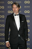 Actor Mads Mikkelsen attends the 'GQ Men of the Year 2014' photocall at Musee d'Orsay on November 19 2014 in Paris France