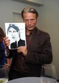 Actor Mads Mikkelsen attends 'The Hunt' New York Premiere at Elinor Bunin Munroe Film Center on July 10 2013 in New York City