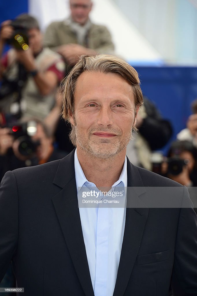 Actor <a gi-track='captionPersonalityLinkClicked' href=/galleries/search?phrase=Mads+Mikkelsen&family=editorial&specificpeople=3003791 ng-click='$event.stopPropagation()'>Mads Mikkelsen</a> attends the photocall for 'Michael Kohlhaas' at The 66th Annual Cannes Film Festival at Palais des Festivals on May 24, 2013 in Cannes, France.