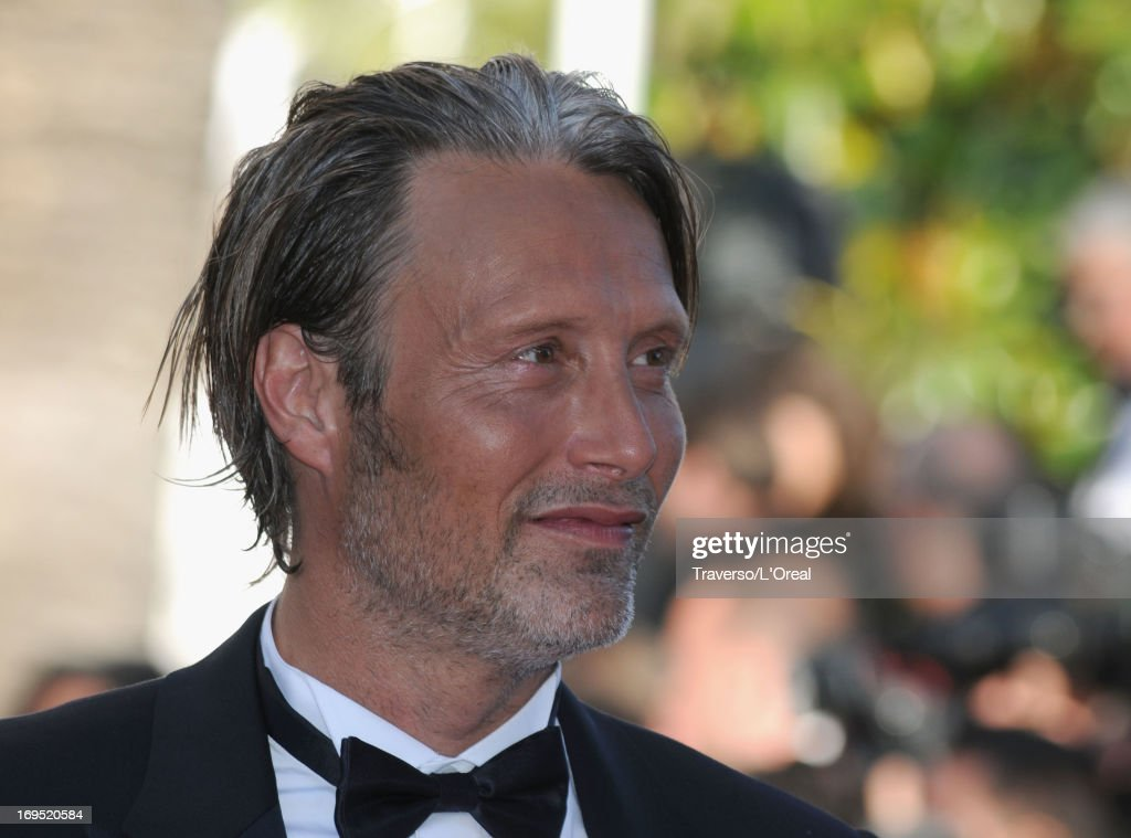 Actor Mads Mikkelsen attends the 'Zulu' Premiere and Closing Ceremony during the 66th Annual Cannes Film Festival at the Palais des Festivals on May 26, 2013 in Cannes, France.