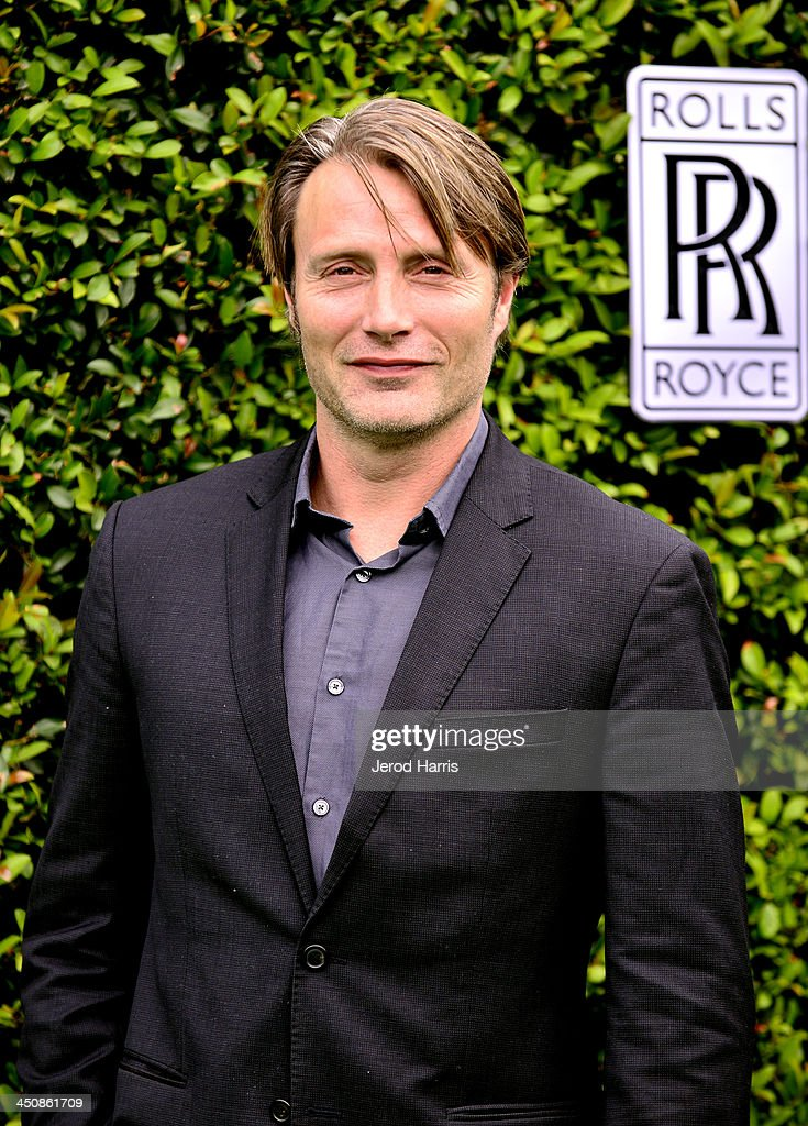 Actor Mads Mikkelsen attends Variety Awards Studio Day 1 at the Leica Gallery and Store on November 20 2013 in West Hollywood California