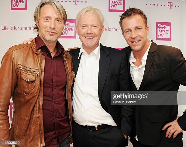 Actor Mads Mikkelsen Deutsche Telekom Vice President of International Marketing Communications Sponsoring Wolfgang Kampbartold and director Asger...