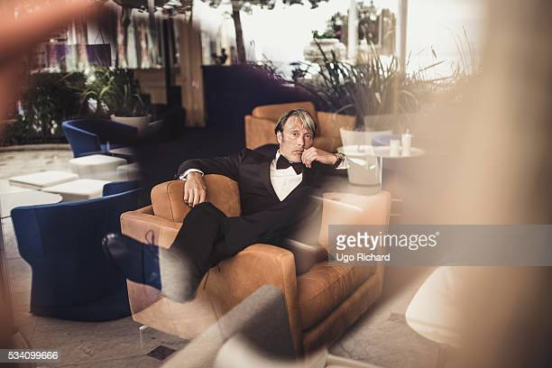 Actor Mads Mikkelsen is photographed for Gala on May 15 2016 in Cannes France