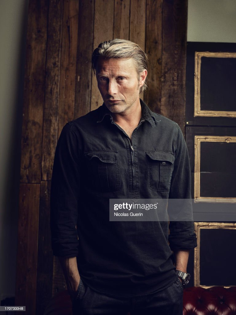 Actor <a gi-track='captionPersonalityLinkClicked' href=/galleries/search?phrase=Mads+Mikkelsen&family=editorial&specificpeople=3003791 ng-click='$event.stopPropagation()'>Mads Mikkelsen</a> is photographed for Self Assignment on May 20, 2013 in Cannes, France.