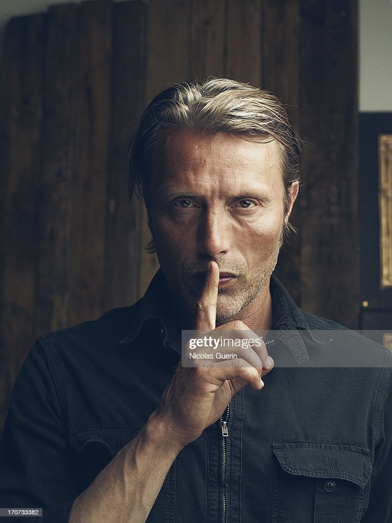 Actor Mads Mikkelsen is photographed for Self Assignment on May 20, 2013 in Cannes, France.