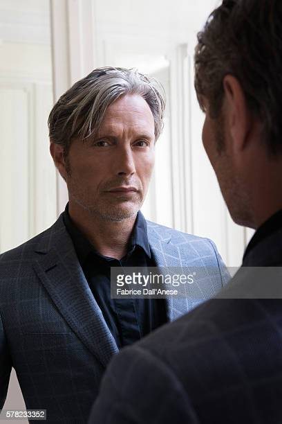 Actor Mads Mikkelsen is photographed for Stern Magazine on May 15 2016 in Cannes France