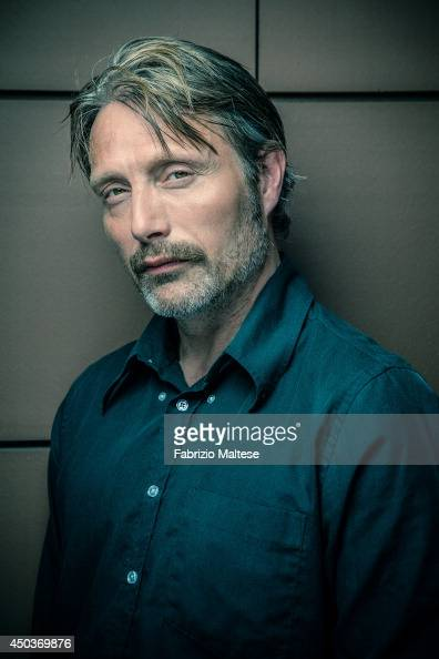 Actor Mads Mikkelsen is photographed in Cannes France