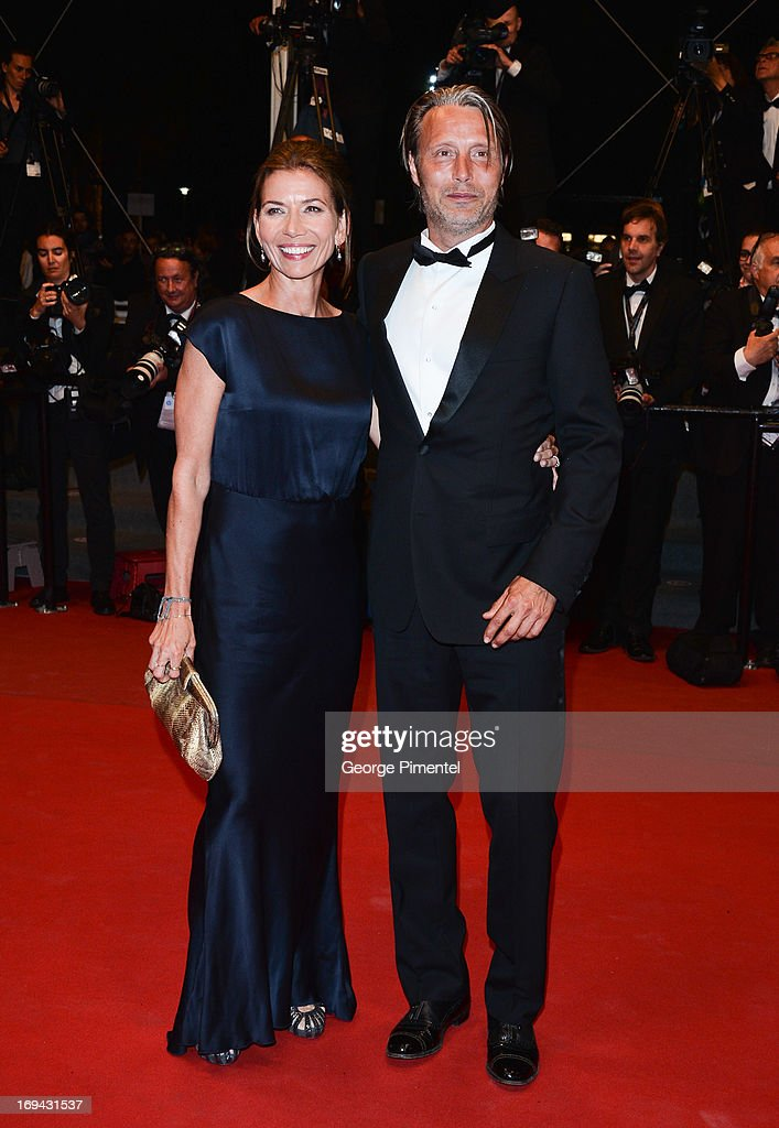 Actor <a gi-track='captionPersonalityLinkClicked' href=/galleries/search?phrase=Mads+Mikkelsen&family=editorial&specificpeople=3003791 ng-click='$event.stopPropagation()'>Mads Mikkelsen</a> with wife Hanne Jacobsen attend the Premiere of 'Michael Kohlhaas' at The 66th Annual Cannes Film Festival on May 24, 2013 in Cannes, France.