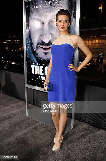 Actor Maggie Grace attends Open Road Films' 'The Grey' movie premiere at Regal Cinemas LA Live on January 11 2012 in Los Angeles California
