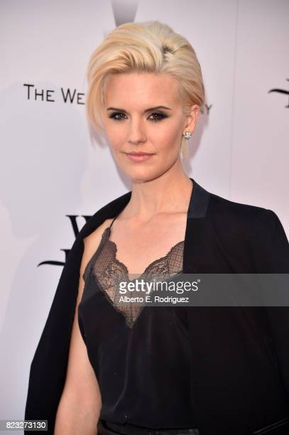 Actor Maggie Grace attends the premiere of The Weinstein Company's 'Wind River' at The Theatre at Ace Hotel on July 26 2017 in Los Angeles California