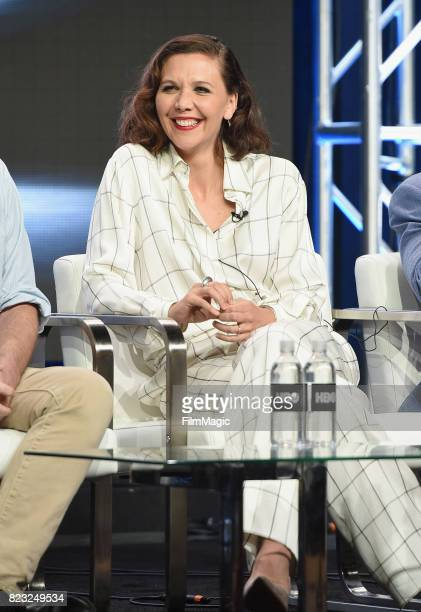 Actor Maggie Gyllenhaal speaks onstage during the HBO Summer TCA 2017 at The Beverly Hilton Hotel on July 26 2017 in Beverly Hills California