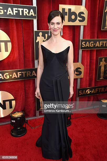 Actor Maggie Siff attends The 23rd Annual Screen Actors Guild Awards at The Shrine Auditorium on January 29 2017 in Los Angeles California 26592_009