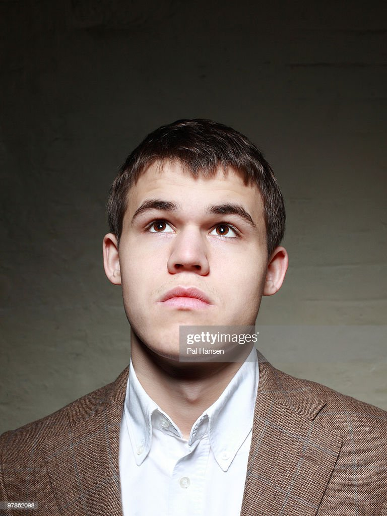 Actor Magnus Carlsen pose for a portrait shoot in London on November 12, 2009.