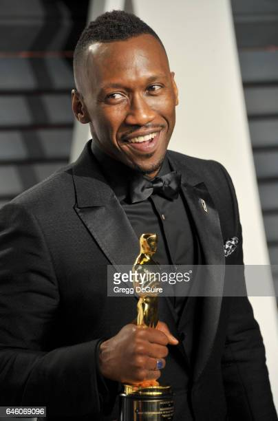 Actor Mahershala Ali arrives at the 2017 Vanity Fair Oscar Party Hosted By Graydon Carter at Wallis Annenberg Center for the Performing Arts on...