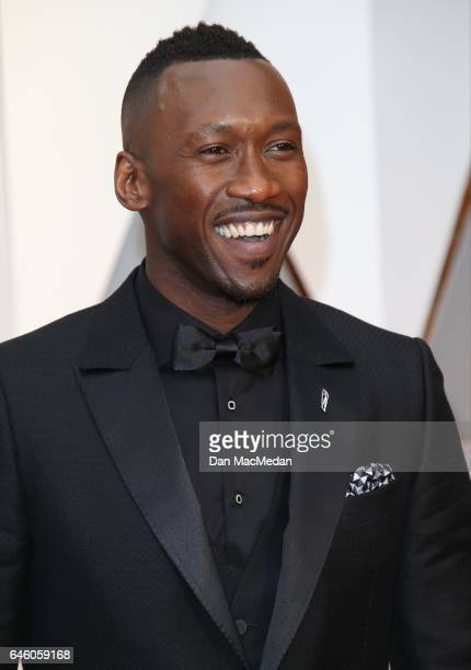 Actor Mahershala Ali arrives at the 89th Annual Academy Awards at Hollywood Highland Center on February 26 2017 in Hollywood California