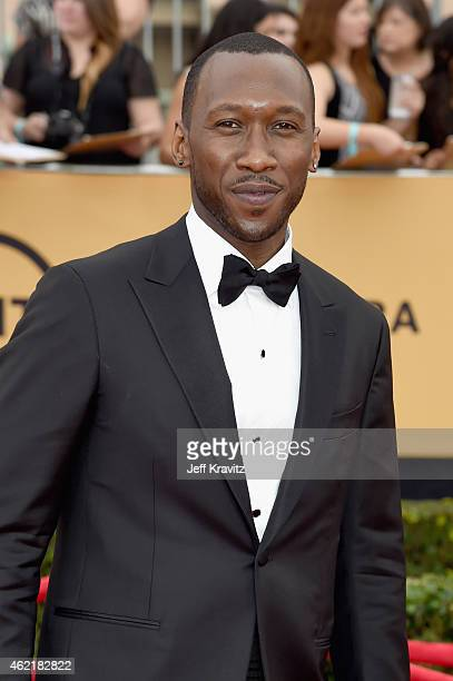 Actor Mahershala Ali attends the 21st Annual Screen Actors Guild Awards at The Shrine Auditorium on January 25 2015 in Los Angeles California