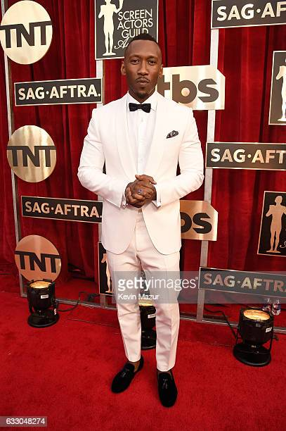 Actor Mahershala Ali attends The 23rd Annual Screen Actors Guild Awards at The Shrine Auditorium on January 29 2017 in Los Angeles California...