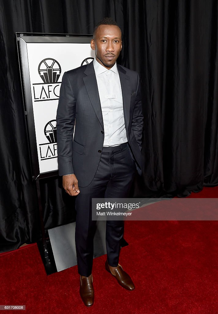 Actor Mahershala Ali attends the 42nd annual Los Angeles Film Critics Association Awards at InterContinental Los Angeles Century City on January 14, 2017 in Los Angeles, California.