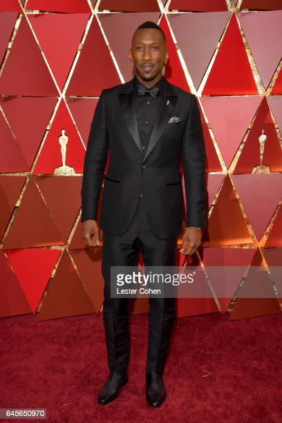 Actor Mahershala Ali attends the 89th Annual Academy Awards at Hollywood Highland Center on February 26 2017 in Hollywood California