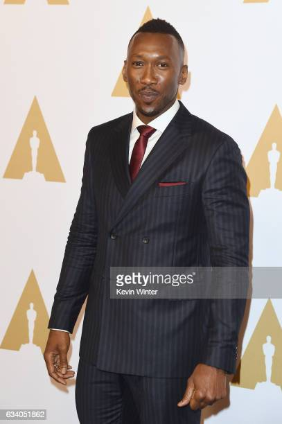 Actor Mahershala Ali attends the 89th Annual Academy Awards Nominee Luncheon at The Beverly Hilton Hotel on February 6 2017 in Beverly Hills...