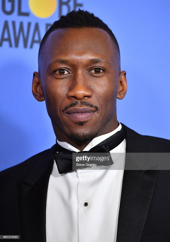 Actor Mahershala Ali poses in the press room during the 74th Annual Golden Globe Awards at The Beverly Hilton Hotel on January 8, 2017 in Beverly Hills, California.