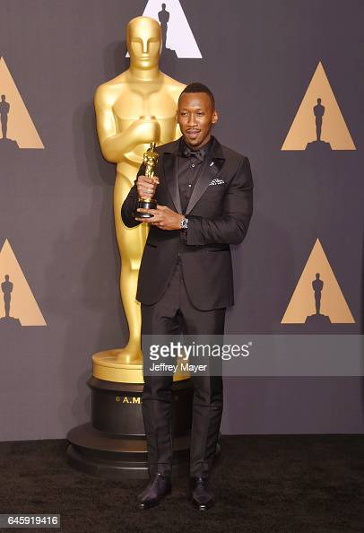 Actor Mahershala Ali winner of...